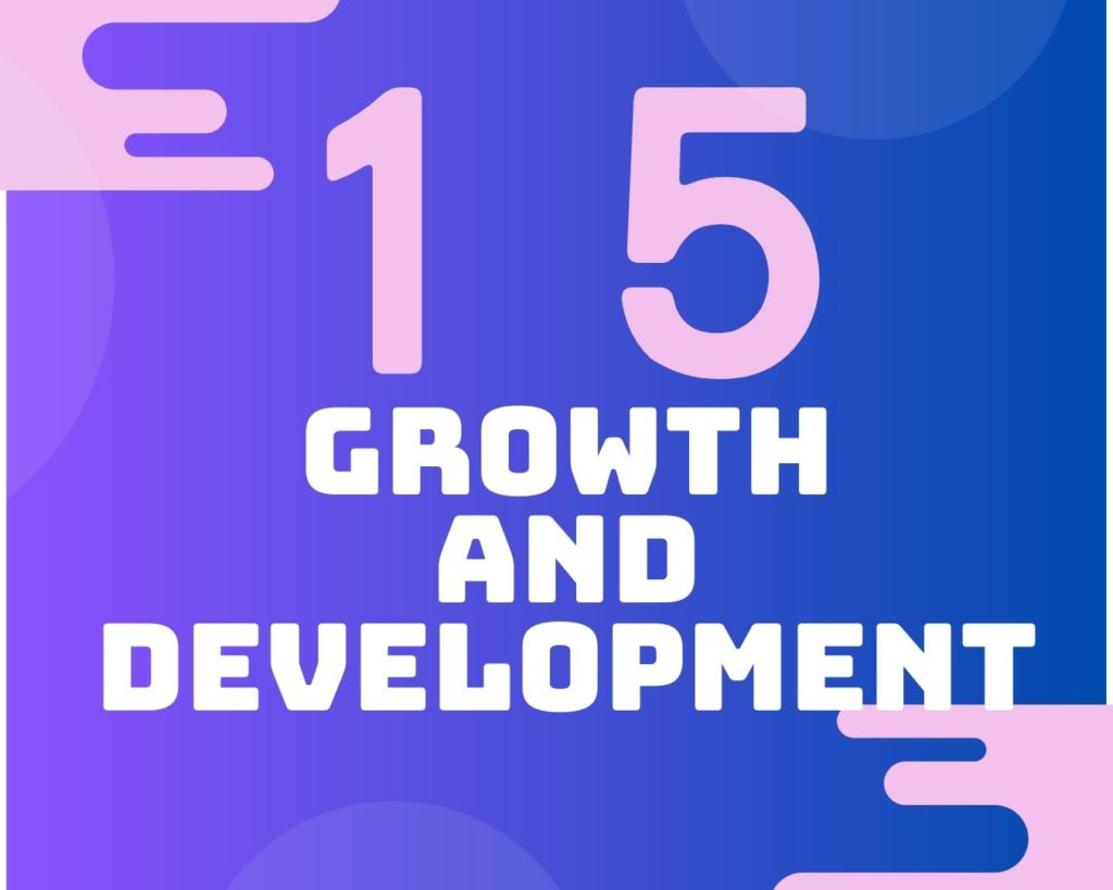 15 Growth and development